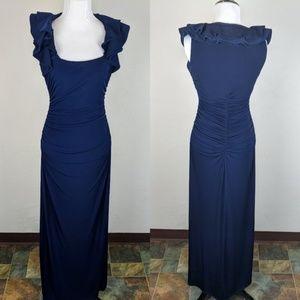 Laundry by Shelli Segal Blue Bridesmaids Dress